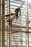 Romanian construction workers Royalty Free Stock Photos