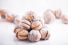 Romanian cookies royalty free stock photography