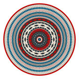 Round Romanian elelment. Traditional Romanian round decorative element,  template Stock Photography