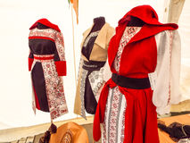 Romanian costumes Stock Images