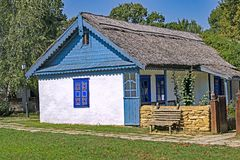 Romanian Country Cottage Royalty Free Stock Photography