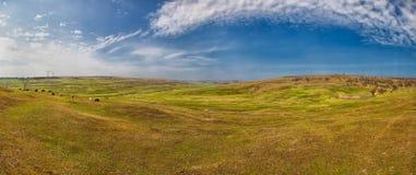 Romanian countryside landscape Stock Photography