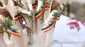 Romanian crafts Stock Image