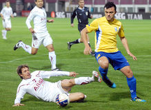 ROMANIAN CUP: RAPID BUCHAREST-CS OTOPENI Stock Image