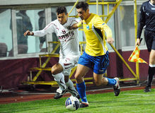 ROMANIAN CUP: RAPID BUCHAREST-CS OTOPENI Stock Photo