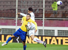 ROMANIAN CUP: RAPID BUCHAREST-CS OTOPENI Royalty Free Stock Photo