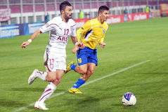 ROMANIAN CUP: RAPID BUCHAREST-CS OTOPENI Royalty Free Stock Photography
