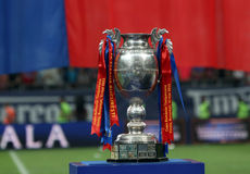 Romanian Cup Trophy Royalty Free Stock Photo