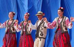 Romanian Dancers Royalty Free Stock Image