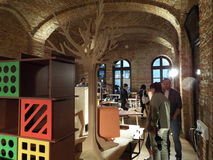 Romanian Design Week 2015 in Bucharest, Romania. Stock Photo