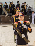 Romanian Drill Team Royalty Free Stock Images