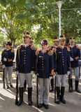 Romanian Drill Team Stock Images