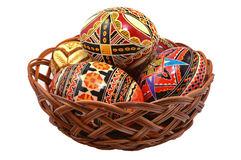 Romanian easter eggs Royalty Free Stock Image