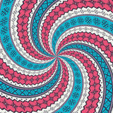 Romanian embroidery background Stock Photo
