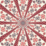 Romanian embroidery background Royalty Free Stock Photos