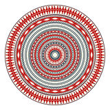 Romanian embroidery design Royalty Free Stock Images