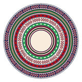 Romanian embroidery design Royalty Free Stock Photos