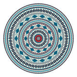 Romanian embroidery design Royalty Free Stock Photography