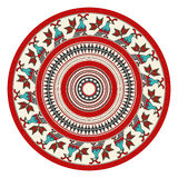Romanian embroidery design Royalty Free Stock Image