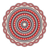 Romanian embroidery design Royalty Free Stock Photo