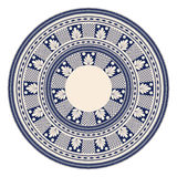 Romanian embroidery design Stock Photography