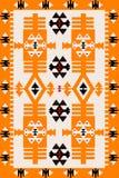 Romanian ethnic motifs. Carpet with Romanian ethnic motifs royalty free illustration