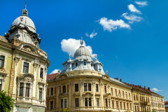 Romanian facade Royalty Free Stock Photography