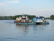 Romanian ferry-boat Royalty Free Stock Photos