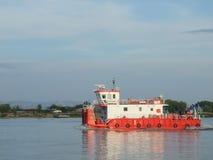 Romanian ferry-boat Stock Photo