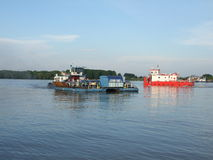 Romanian ferry-boat Royalty Free Stock Image