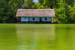 Romanian fisherman house Royalty Free Stock Images