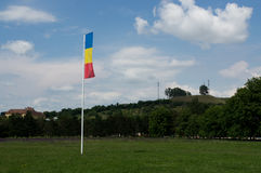 Romanian flag Royalty Free Stock Image