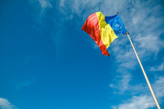 Romanian Flag 1 Royalty Free Stock Images