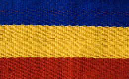 Romanian flag texture Stock Photos