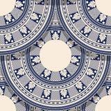 Romanian folk art pattern Royalty Free Stock Image