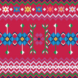 Seamless ethnic pattern background Stock Photo