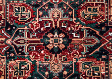 Romanian folk seamless pattern ornaments. Romanian traditional embroidery. Ethnic texture design. Traditional carpet design. Carpe Stock Images