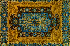 Romanian folk seamless pattern ornaments. Romanian traditional embroidery. Ethnic texture design. Traditional carpet design. Carpe. T ornaments. Rustic carpet stock images