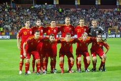 romanian futbolowa drużyna Obraz Royalty Free