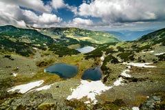 Romanian glacial lakes Royalty Free Stock Image