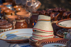 Romanian handicrafts Stock Photos