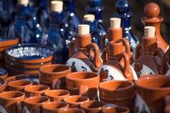 Romanian handmade objects Royalty Free Stock Image