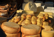 Romanian kashkaval cheese Royalty Free Stock Photography