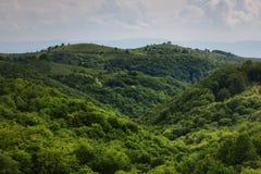 Romanian krajobraz Fotografia Royalty Free