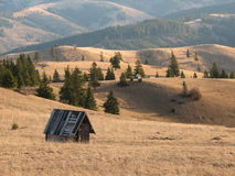 Romanian landscape Stock Photography