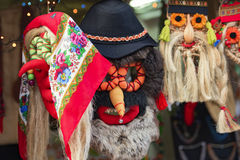 Romanian masks Royalty Free Stock Images