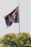 Romanian monarchy flag Royalty Free Stock Photography