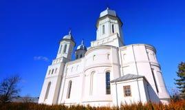 Romanian monastery. A romanian monastery in Tulcea stock photos