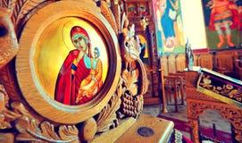 Romanian monastery. A romanian monastery in Tulcea stock photo