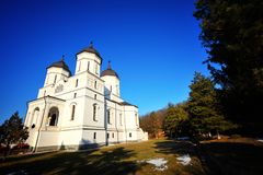 Romanian monastery Stock Photos
